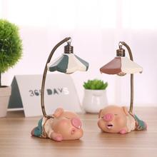 Nettes kleines Schwein Nachtlicht LED Kleines Licht für Hauptschlafzimmergeschenk