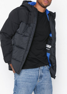 Jack & Jones Jcocross Jacket Hood Jakker Svart
