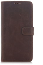 Leather Phoenix Sony Xperia Premium Z5 Lær Etui - Coffee