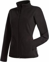 Active Fleece Jacket For Women Black