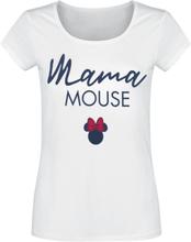 Mickey Mouse - Mama Mouse -T-skjorte - hvit