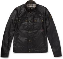 Belstaff - Racemaster Waxed-cotton Jacket - Black - XXXL,Belstaff - Racemaster Waxed-cotton Jacket - Black - M,Belstaff - Racemaster Waxed-cotton Jacket - Black - XL,Belstaff - Racemaster Waxed-cotton Jacket - Black - XXL