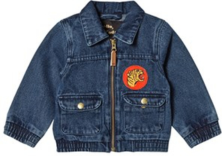 Mini Rodini Denim Tiger Jacka Vintage Wash 80-86cm (12-18 months)