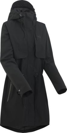 Kari Traa Tuulen- ja vedenpitävä takki-Gjerald jacket, naisten, musta
