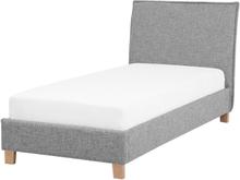 Sänky 90x200 cm harmaa SENNEZ
