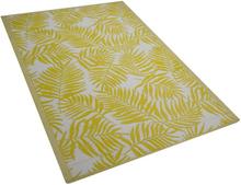 Ulkomatto 120x180 cm kaksipuolinen keltainen KOTA