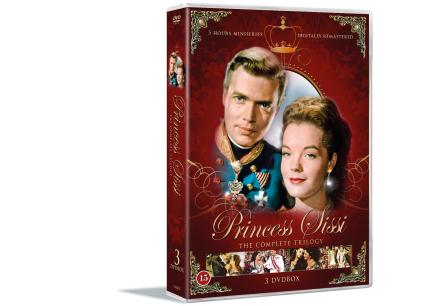 Princess Sissi: Complete Trilogy (3-disc) - DVD