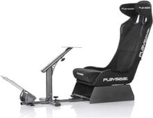 Evolution Pro Alcantara Racer Stuhl - Schwarz - Alcantara - Bis zu 120 kg