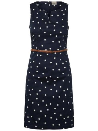 VERO MODA Feminine Sleeveless Dress Women Blue