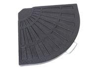 Päivänvarjon jalkapaino, musta, 14kg