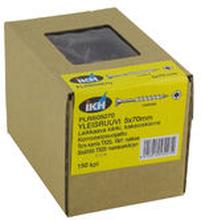 Yleisruuvi 5x70mm, leikkaava kärki, osakierre, RST, ruskea, Torx TX25-kanta, 150 kpl/pkt + ruuvauskärki