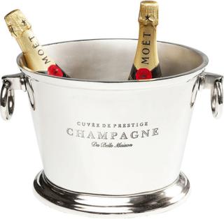 KARE DESIGN Champagne Du Belle vinkøler - sølv/aluminium