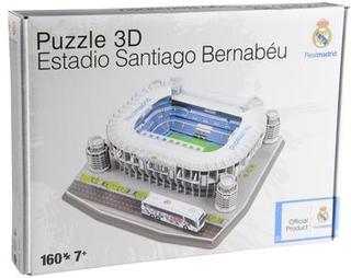 Real Madrid 3D Puslespil Estadio Santiago Bernabéu