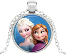 Elsa anna frost halsband flicka medaljong frost frozen 3 sorter 4056624798ef3