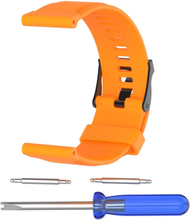 Suunto Traverse Klokkereim laget av silikon - Oransje