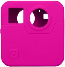 GoPro Fusion kamera beskyttelses deksel laget av silikon - Rosa
