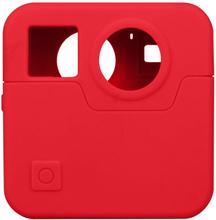 GoPro Fusion kamera beskyttelses deksel laget av silikon - Rødt