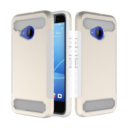 HTC U11 Life Deksel laget av plastikk og silikon - Gull