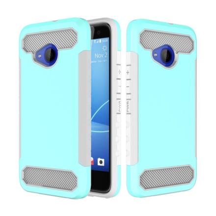 HTC U11 Life Deksel laget av plastikk og silikon - Turkis