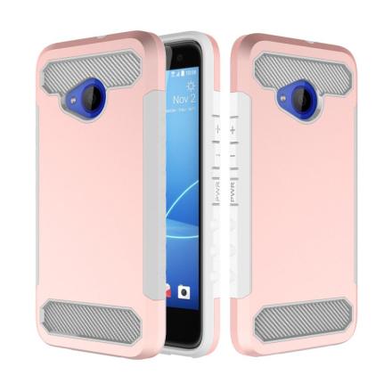 HTC U11 Life Deksel laget av plastikk og silikon - Rosa gull
