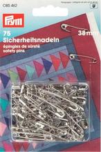 Säkerhetsnålar No. silverfärg 0.85x38 mm 75 st