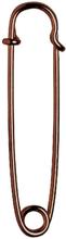 Kiltnål mässing 76mm bronze lack 1 st