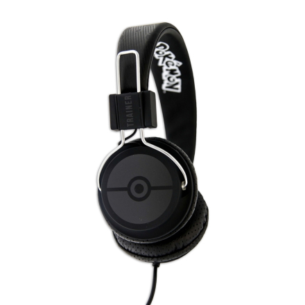 POKEMON TRAINER Hovedtelefon On-Ear Tween Pokemon Sort - CDON.COM