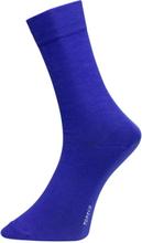 Herrstrumpor PLAIN- kornblå