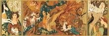 Puzzle gallery, Unicorn lady, Djeco