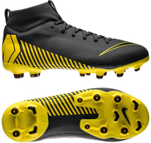 low priced bf44d e3860 Nike Mercurial Superfly 6 Academy MG Game Over - Grå Gul Barn