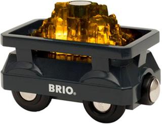 BRIO33896 BRIO® World Fraktvagn med Guld och Ljus