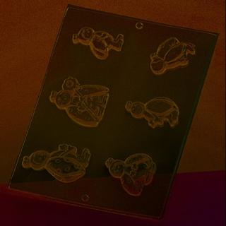 Gjutform - nyckelpiga 5,5 x 7 cm