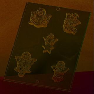 Gjutform - änglar 6-8 cm