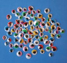 Ögon med frans 230 st färg