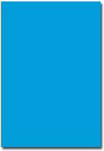 Pollen Brevpapper A4 - 50 st - Intensiv blå
