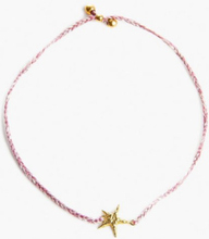 Santai Sea Star Bracelet Dusty Pink