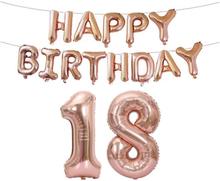 Syntymäpäiväpallot 18-vuotiaalle