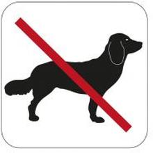 Symbol Habo Hundeforbud