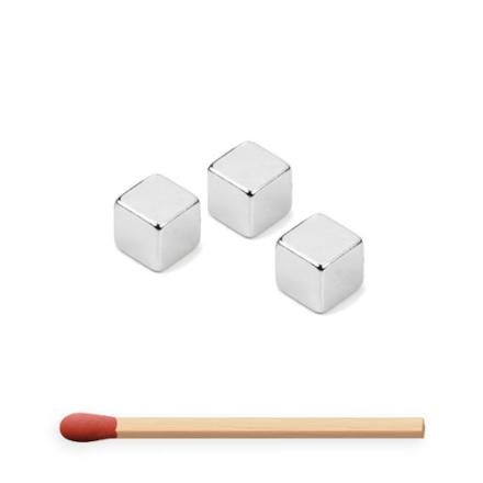 Kraftig kube magnet 7 mm   Neodym magnet   Løftekraft 1,6 kg
