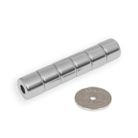 Ring magnet Ø 12/5 mm x 10 mm
