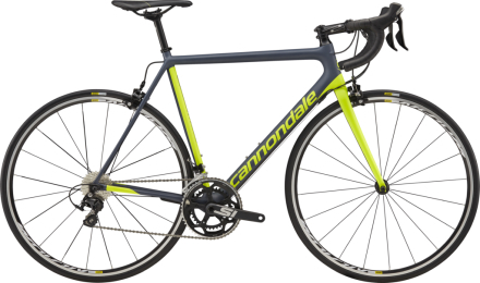 Cannondale SuperSix EVO 105 2018 - Grå/Lime