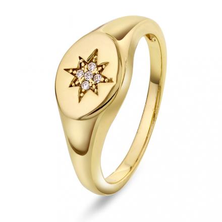 JANNE FORMOE Ring i sølv med zirkonia