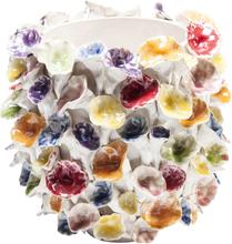 KARE DESIGN Leaf Colore vase -multifarvet stentøj (H 26,5)