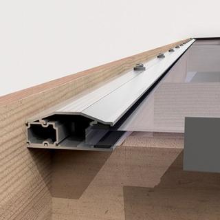 17,8 m² - 26,2 m² Glastak 5096 x 3500, Utan stomme