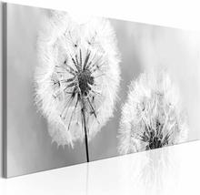 ARTGEIST Summer Memories billede - hvid/grå print (50x150)
