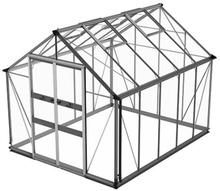 Växthus Odla 8,2 m²-Aluminium-Säkerhetsglas