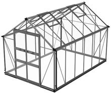 Växthus Odla 9,8 m²-Aluminium-Säkerhetsglas