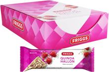 Hel Låda Nötbars Quinoa & Hallon 18 x 35g - 57% rabatt