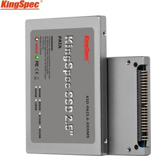 Kingspec 2.5 inch PATA 44pin IDE ssd 16GB 32GB 64GB 128GB 4C MLC Flash Solid State Disk hd Hard Drive IDE for Laptop Desktop