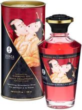 Shunga - Varming Massage Oil, Sparkling Strawberry Wine